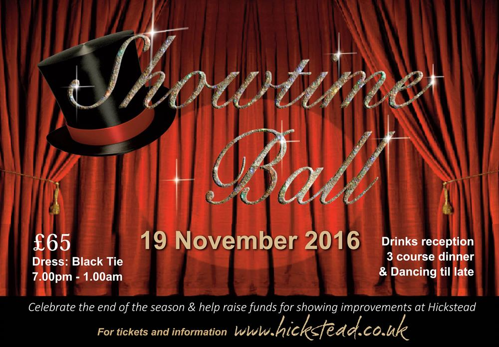 Hickstead Showtime Ball 2016